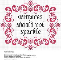 Vampires Should Not Sparkle