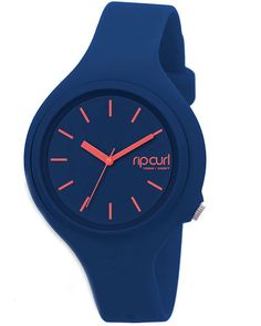 SURFSTITCH - WATCHES - WOMENS WATCHES - RUBBER WATCHES - RIP CURL AURORA WATCH - NAVY