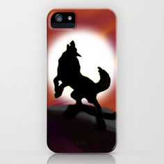 Howling iPhone Case by JT Digital Art  - $35.00