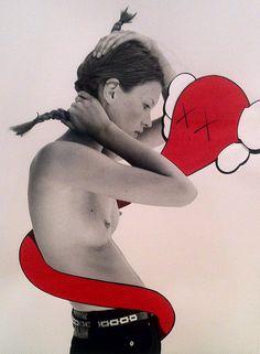 Kaws X Kate Moss