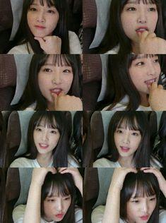 Kpop Girl Groups, Kpop Girls, Rapper, Baby Ducks, Japanese Names, Yuehua Entertainment, Japanese Girl Group, Korean Actresses, 3 In One