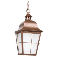 You'll love the Mcglynn 1-Light Outdoor Hanging Lantern at Joss & Main - With Great Deals on all products and Free Shipping on most stuff, even the big stuff.