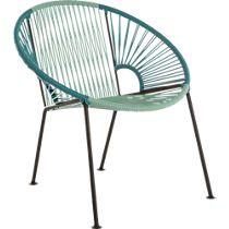 ixtapa blue outdoor lounge chair