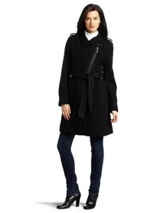 Vince Camuto Women's Asymmetrical Wool Jacket, Black, Large Vince Camuto. $106.00