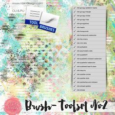 Brushtool-Set No1 {CU-Use}::11/03 - Wonderful Wednesday::Memory Scraps {CU}