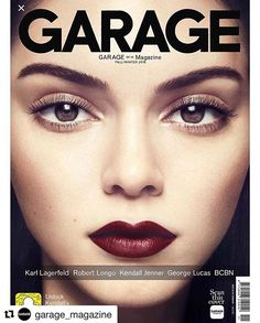 Cover of #Garage magazine!! #proudmama #mybeauty #love #Repost @garage_magazine ・・・ In partnership with #Snapchat, @kendalljenner features on the interactive cover of GARAGE Issue 11! 💗 Scan with the GARAGE Mag app to animate Kendall. Snap the Snapcode to download the Lens — a first for Snapchat. 😁 In collaboration with @becoolbenice. Shot by @philpoynter. Creative direction by @chaos. Beauty direction by @patmcgrathreal. #TeamGARAGE #GARAGEMagazine #BCBN