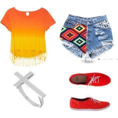 """""""Summer Hipster"""" by dominiquee920 on Polyvore"""