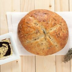 Rustic Rosemary Garlic Bread