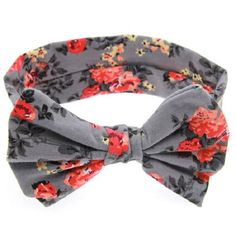 What's the perfect way to accessories any outfit? HEADBANDS! -duh. Available in a variety of colors, this floral headband is sure to turn heads. One size fits all.