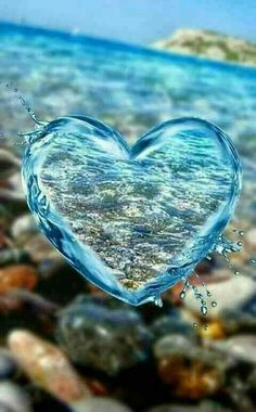 DIY Diamond Painting Kits for Adults Full Drill Embroidery Pictures Arts Crafts for Home Wall Decor Water Drop Heart 1 by Loxfir Love Heart Images, Heart Pictures, I Love Heart, Nature Pictures, Beautiful Heart Pics, Happy Heart, Beautiful Images, Ocean Wallpaper, Heart Wallpaper