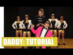 DADDY - PSY Dance Tutorial 3/3 | Jayden Rodrigues - YouTube Dance Choreography, Dance Moves, Daddy, Music, Youtube, Movie Posters, Movies, Musica, Musik