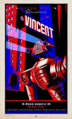 The Vincent. Illustration by Laurent Durieux, 2012.