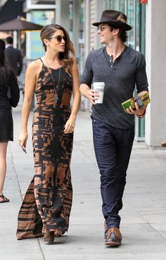 Ian Somerhalder and Nikki Reed in Beverly Hills, Califórnia - 08/09/14