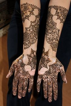 Latest Mehndi Designs | Rock your hands with these Latest Mehndi Designs | Images, Photos