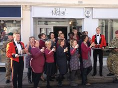 The team at Saffron Walden were delighted to help the Military Wives Choir to choose Mistral outfits for their next performance. Don't they all look amazing wearing Mistral?