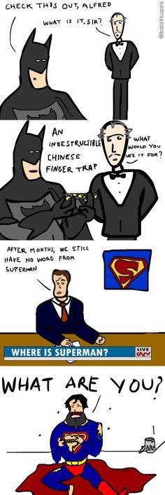 Batman Vs Superman - Funny Superhero - Funny Superhero funny meme - - funny Batman vs Superman comic The post Batman Vs Superman appeared first on Gag Dad. Batman Vs Superman Comic, Batman Meme, Superhero Memes, Marvel Dc Comics, Hulk, Rasengan Vs Chidori, Nananana Batman, Batman Universe, Dc Universe