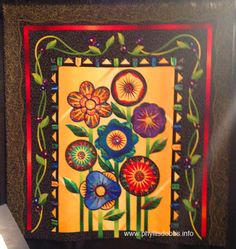 Really wild flowers quilt