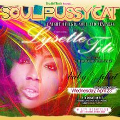SOULPUSSYCAT THIS WEDNESDAY @ LIV