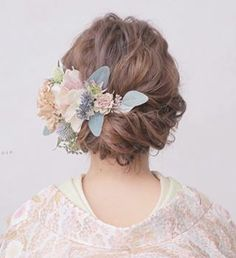 Bridal Makeup, Wedding Makeup, Bridal Hair, Asian Eye Makeup, Wedding Kimono, Hair Arrange, Hair Setting, Kimono Fashion, Hair Art