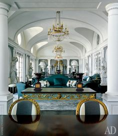 Beirut Penthouse In Neoclassical Overdrive