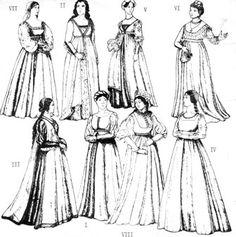 Italian Renaissance Dress 2003