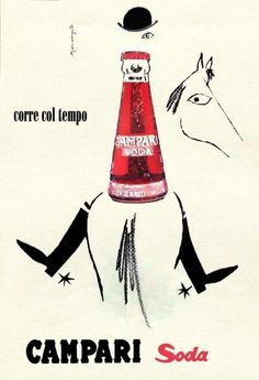Vintage Campari advertisement.