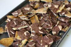 Brickel candy! Saltine's..caramel..chocolate..heath bars. I think yes.