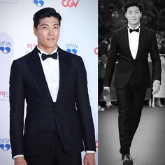 Lee Jae Yoon #leejaeyoon | He's so tall and handsome as hell | 로드앤테일러 #black #silk mikado #tuxedosuit . . . #Lordandtailor #tailor #suit #tuxedo #ootd #today #daily #mensstyle #awesome #bespoke #fashion #wedding #like #life #photo #style #korea #seoul #InstaSize #classy #sartorial Asian Love, Asian Men, Korean Guys, Korean Actors, Wedding Men, Dream Wedding, Beautiful Men, Beautiful People, Lee Jae Yoon