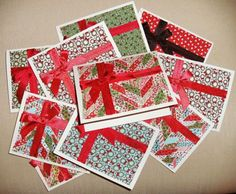 Super quick and easy fabric Christmas cards » Notions - The Connecting Threads Quilt Blog