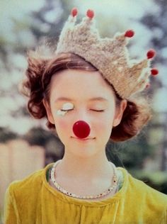 Rudolpha. The Red Nose Princess.