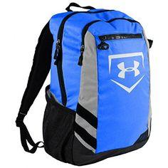 8599cea5bddf Royal Blue Under Armour Baseball Softball Hustle 3 Bat Pack Water Bottle  Gear Bag