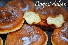 Dukan Donuts 12 July 2013 Consolidation phase, Cruise phase PP, Cruise phase… Dukan Diet Recipes, No Carb Recipes, Donut Recipes, Healthy Foods To Eat, I Foods, Dukan Diet Attack Phase, Wheat Belly Recipes, Low Carbohydrate Diet, Donuts
