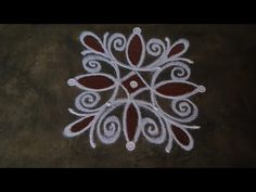 Easy Rangoli Designs Diwali, Indian Rangoli Designs, Rangoli Designs Flower, Free Hand Rangoli Design, Rangoli Border Designs, Small Rangoli Design, Rangoli Patterns, Rangoli Ideas, Rangoli Designs With Dots