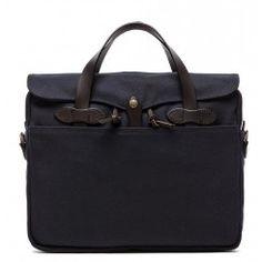 Filson original briefcase navy  http://www.beaubags.nl/brands-we-like/filson