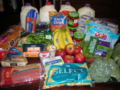 One Income Family Living: How I use my $50 grocery budget!  Great blog for saving $