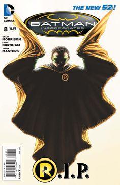 Death of Robin (Damien Wayne)
