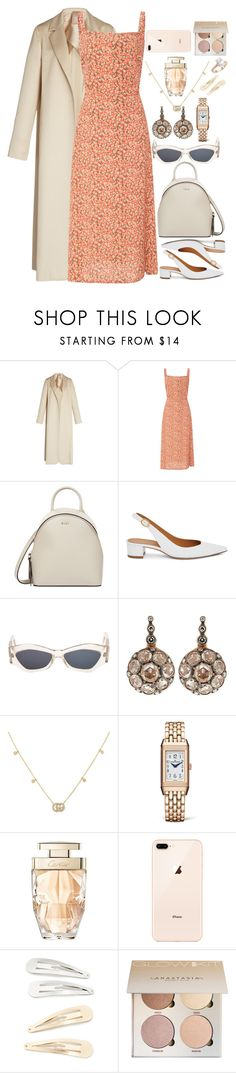 """""""Untitled #262"""" by vainxsaints on Polyvore featuring Pascal Millet, Faithfull, DKNY, Mansur Gavriel, Versace, Selim Mouzannar, Gucci, Jaeger-LeCoultre, Cartier and Kitsch"""