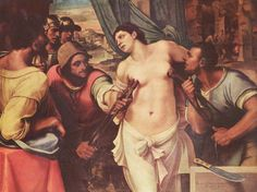 The Martyrdom of Saint Agatha (1519) by Sebastiano del Piombo