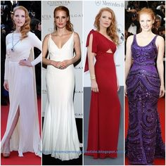 Jessica Chastain y sus outfits