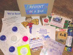 Advent in a Box - Take home box