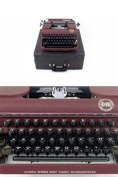 Vintage Olympia Orbis SM1 Working Typewriter von ILikeToType