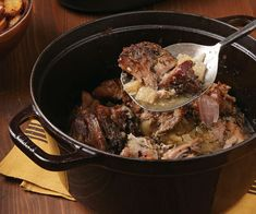 Slow cooking followed by a blast in the oven creates tender meat with an appealing crust, all without searing.