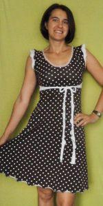 Tutorial: Wie verändere ich einen Shirt-Schnitt zu einem Kleid? Teil 1