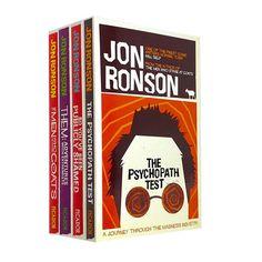Jon Ronson 4 Books Bundle Collection Set The Psychopath Test, So You've Been Pub