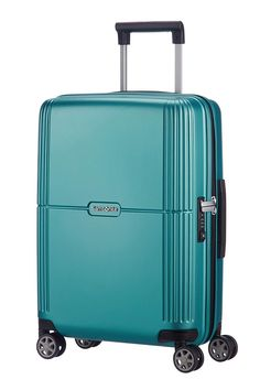 e50f64848 Samsonite Orfeo 55cm Carry On Hard Suitcase Luggage Trolley Blue Small:  Amazon.com.au: Fashion