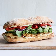 These best-ever chicken sandwiches get excellent flavor from feta cheese and its brine. Get the recipe at Food & Wine.