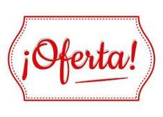 Cartel oferta listo para imprimir #Descuento #Oferta #Rebajas