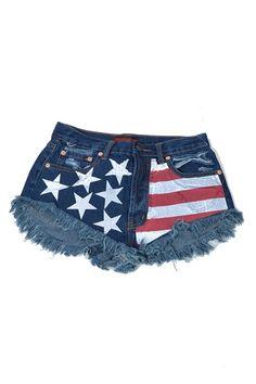 American Flag Denim
