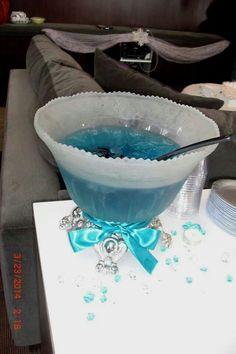 2014 disney frozen Elsa blue punch - birthday party, Halloween party #2014 #Halloween