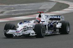 Robert Kubica (BMW) Formula 1 Car, F1 Racing, Indy Cars, F 1, Grand Prix, Race Cars, Yacht, History, Alfa Romeo